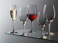 ugostiteljska oprema, čaše, wmf, čaše za vino, crno vino, bijelo vino