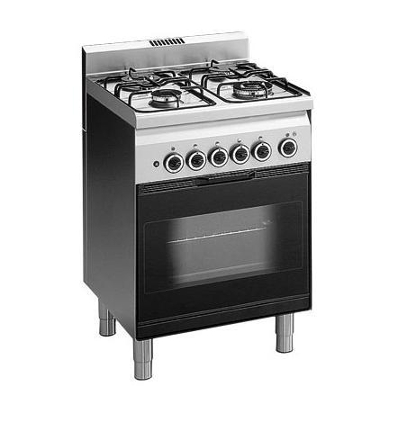 Profesionalni plinski štednjak, Modular, 60/60 CFGE