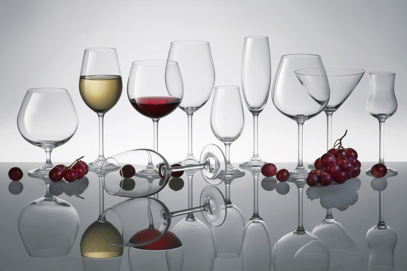 čaše za vino, BOHEMIA, gastro