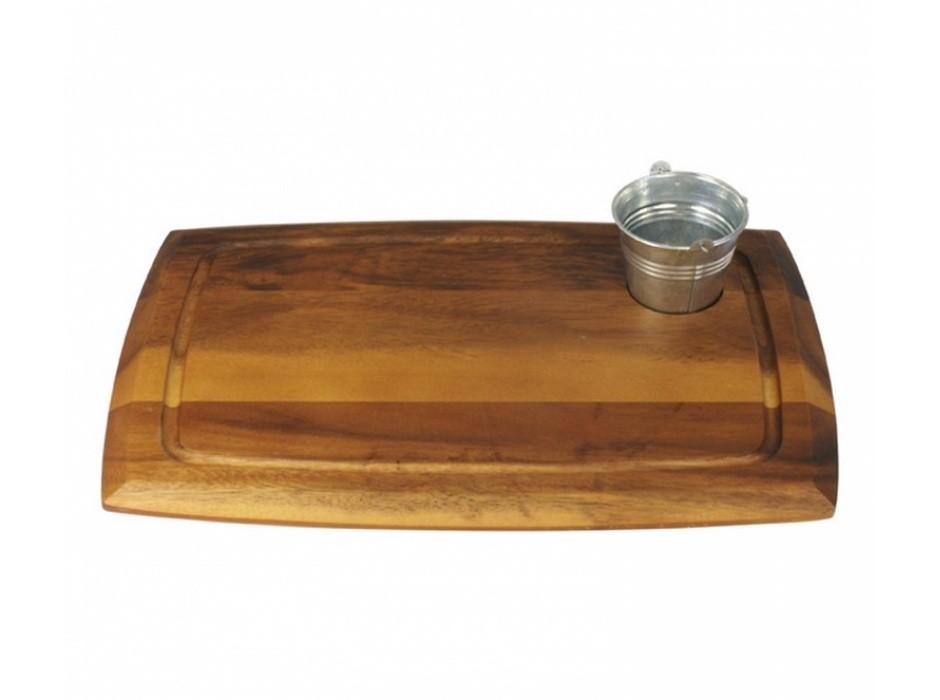 daska za serviranje, daska drvena, daska za posluživanje, bagrem, akacija