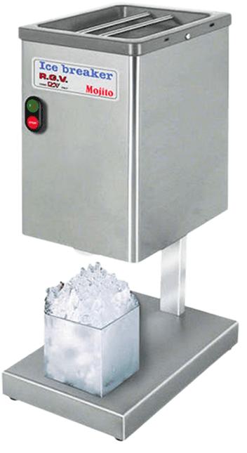 ugostiteljska oprema, barska oprema, drobilica leda, ice crusher, RGV, mojito